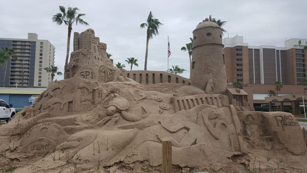 sand castle south padre island