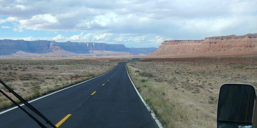 highway 89 into page arizona