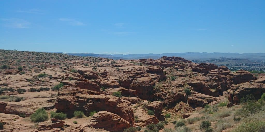 Hiking Pioneer Trail is a great free thing to do in St George Utah.