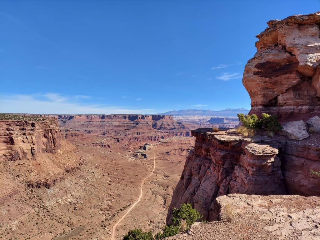 island in the sky canyonlands national park moab utah