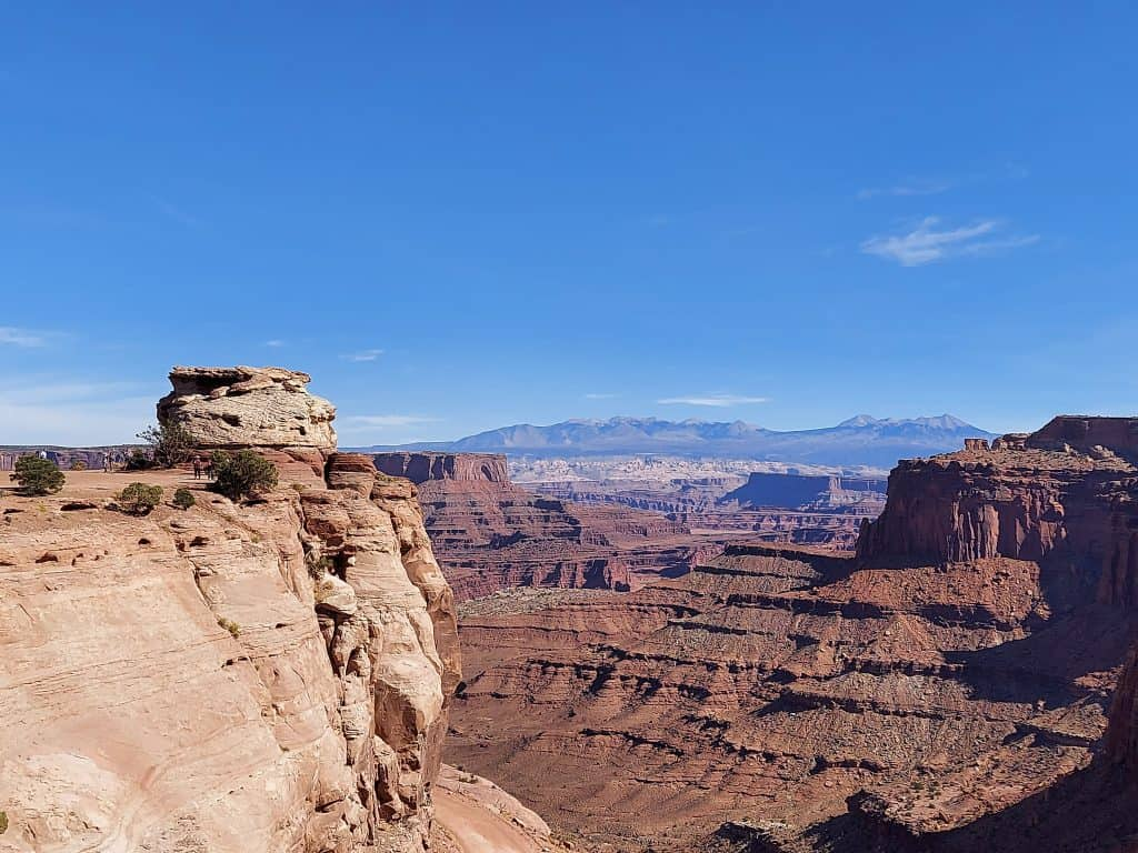 shafer canyon overlook canyonlands national park