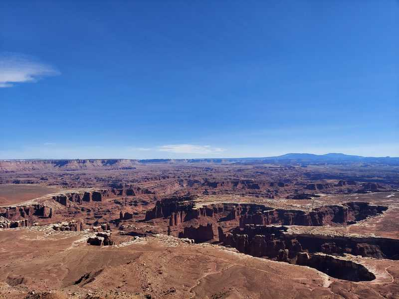 the maze view from our half-day in canyonlands