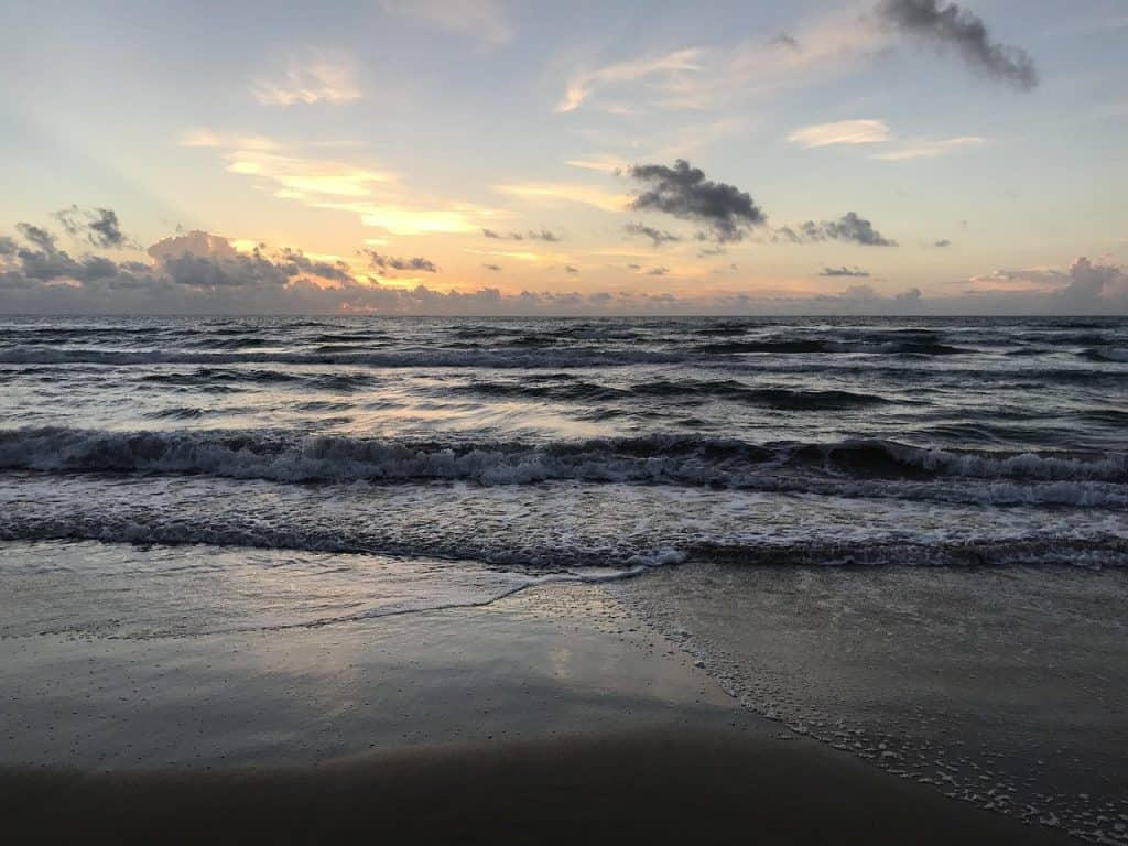 beach south padre by Charles Golden