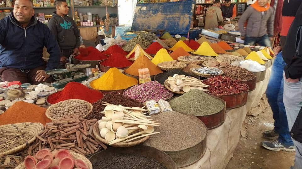 souk morocco spice market spices