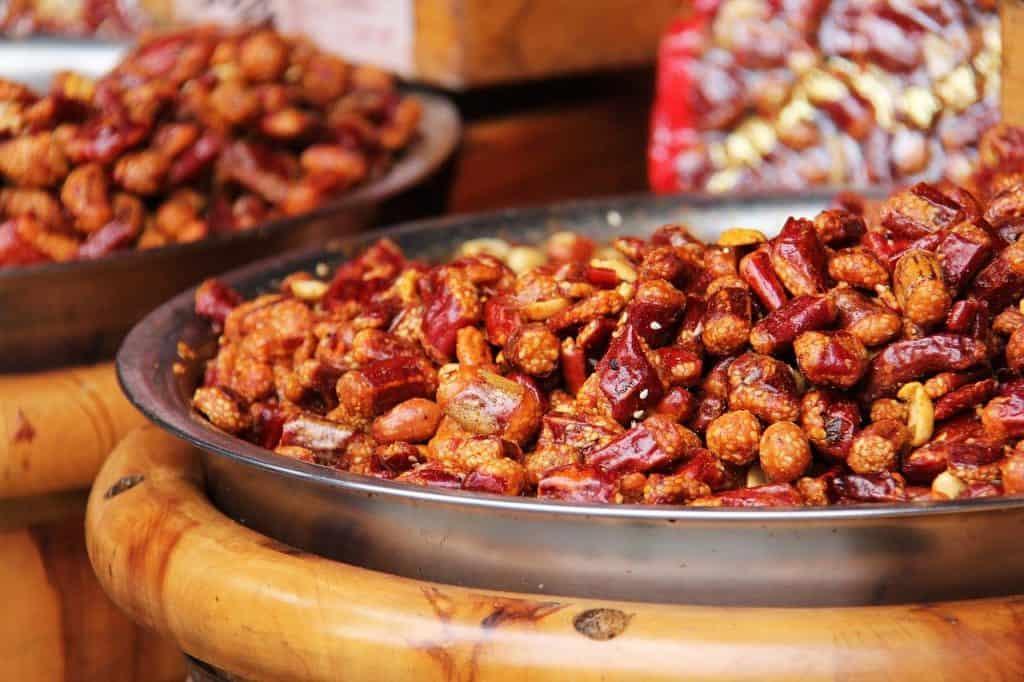 fried chili peanuts