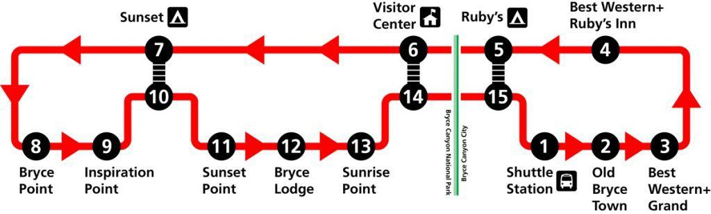bryce canyon 2020 shuttle stops