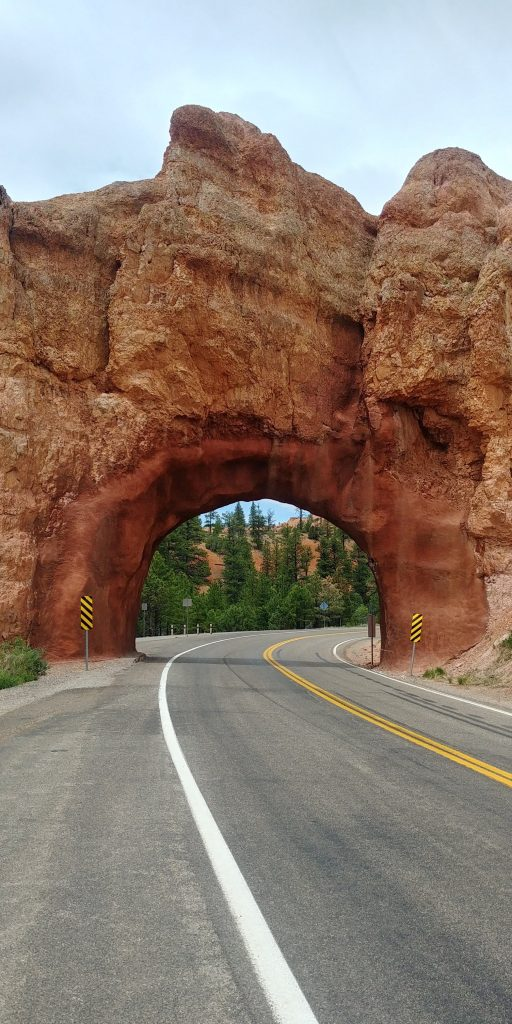arch on highway 12 near red canyon utah