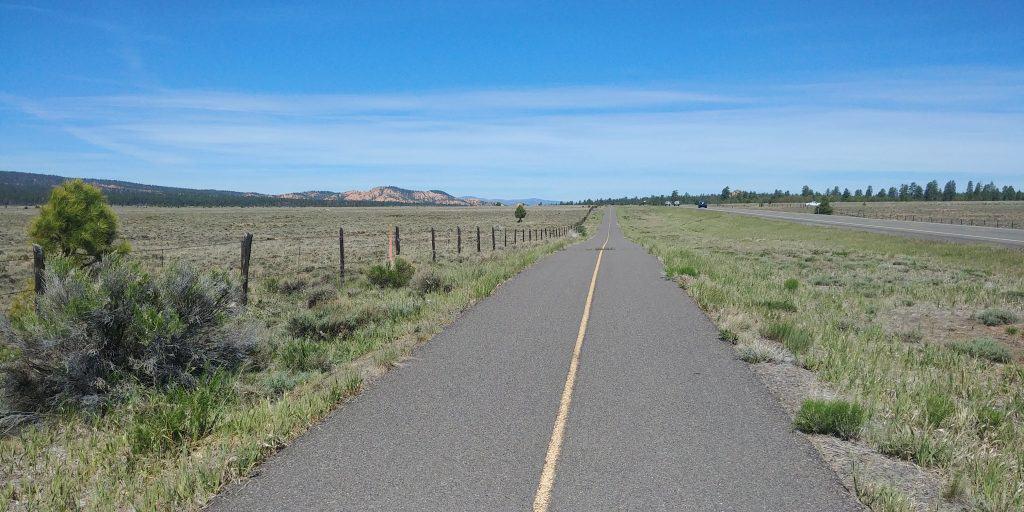 red canyon bike trail in utah