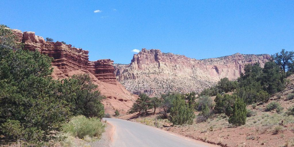 the scenic drive is a must see if only spending one day in capitol reef