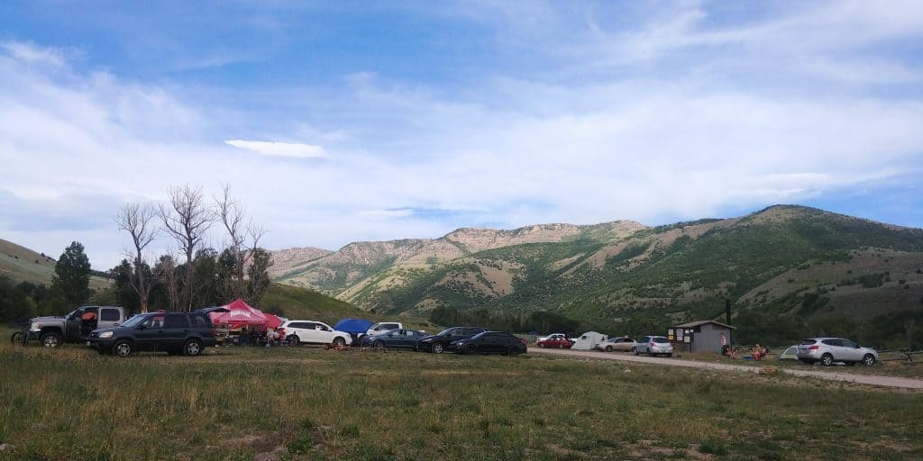 free camping near ogden utah on a summer weekend