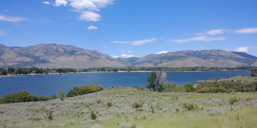 pineview reservoir near ogden utah