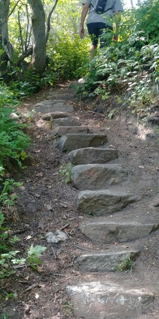 staircase trail at city of rocks