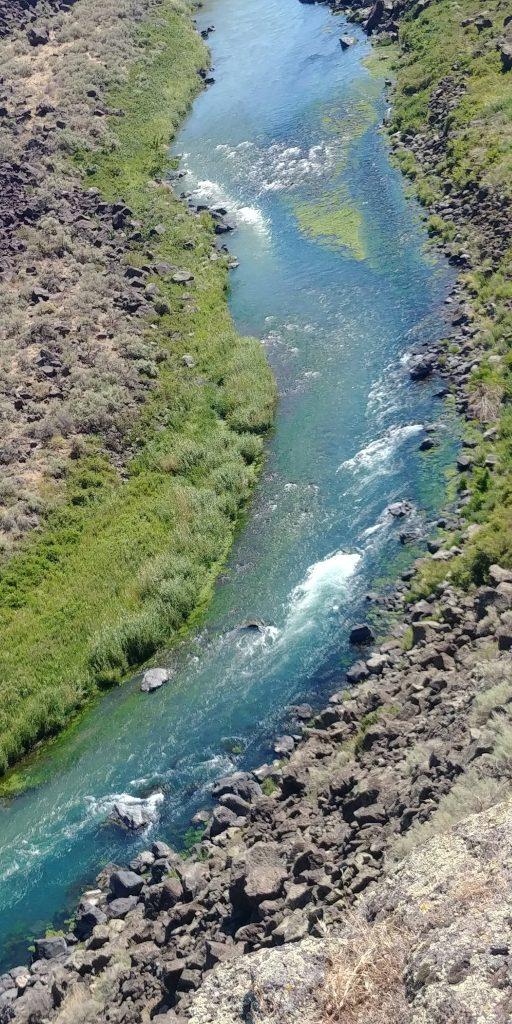 river at mallad gorge