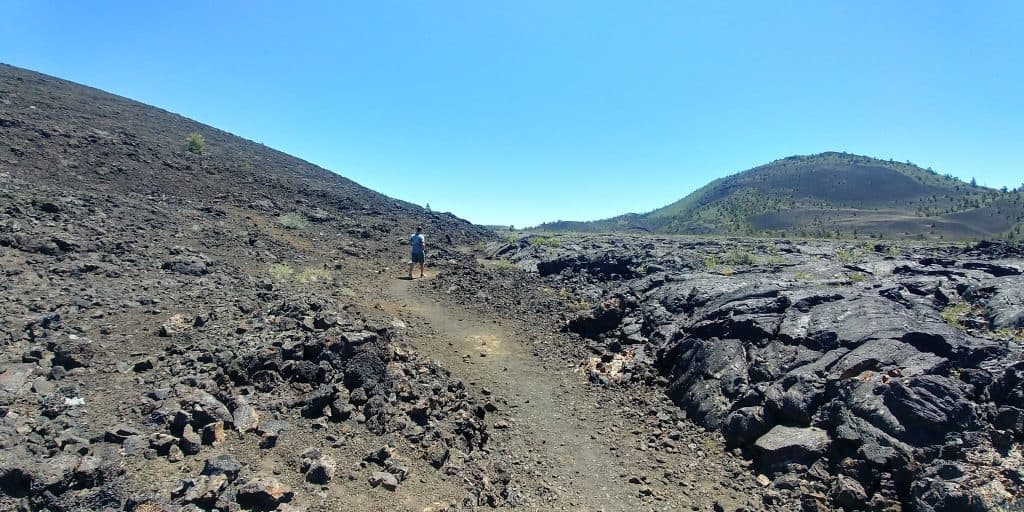 broken loop trail at craters of the moon