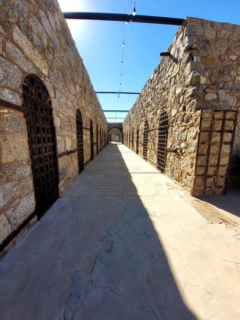 cells at yuma territorial prison