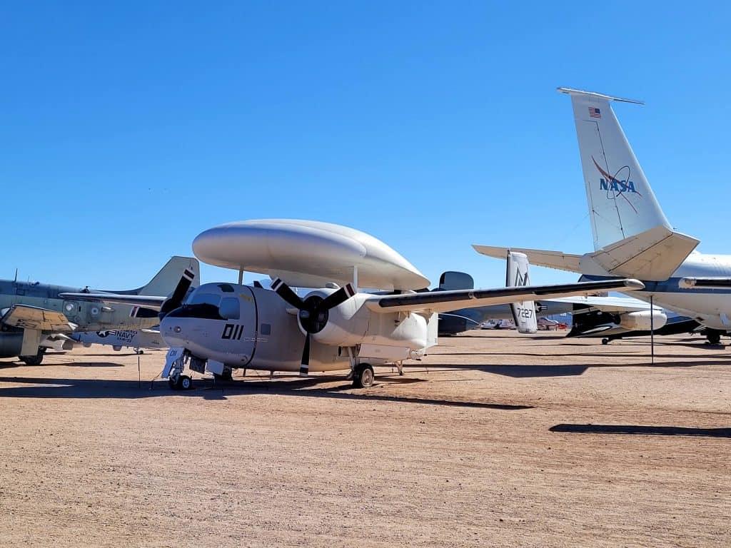 nasa satellite plane at pima air and space museum