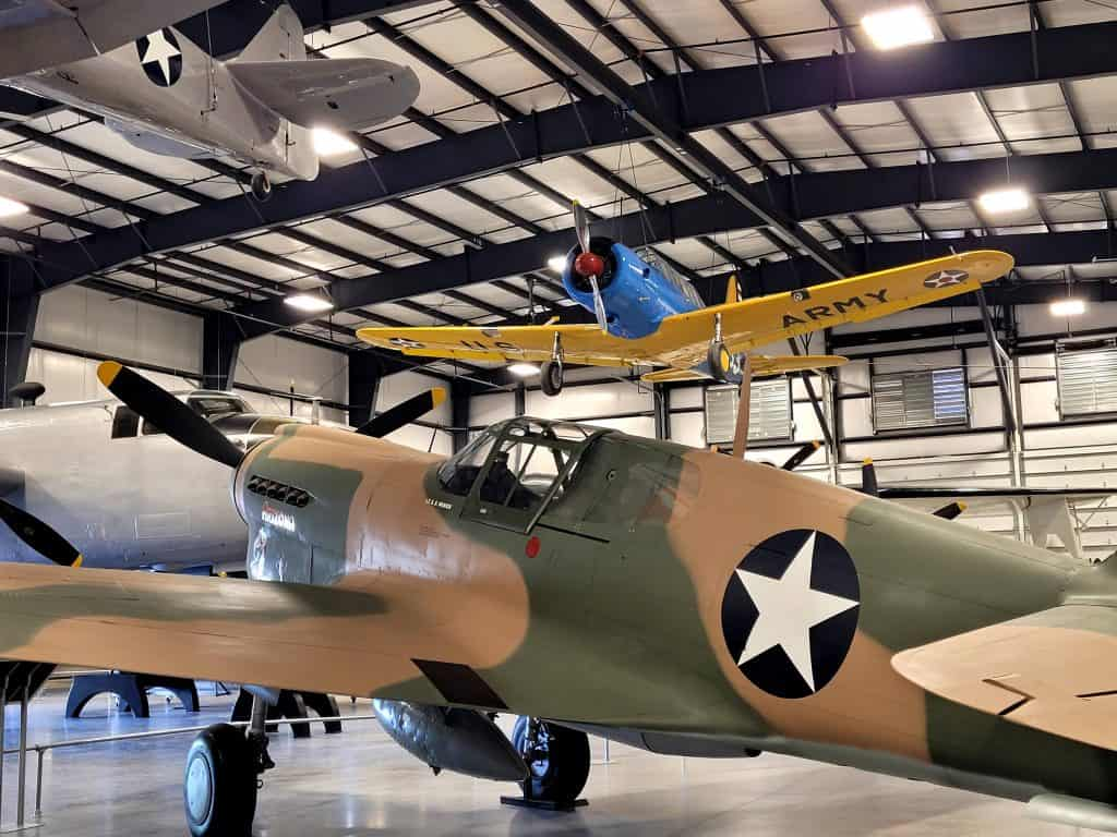 wwii planes at pima air and space museum