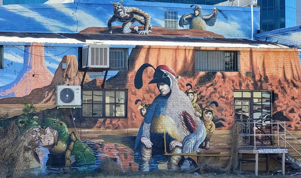 tucson mural street art