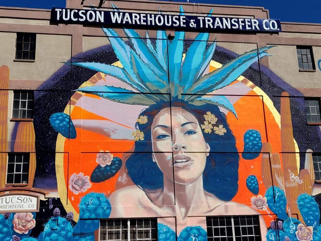 tucson warehouse mural