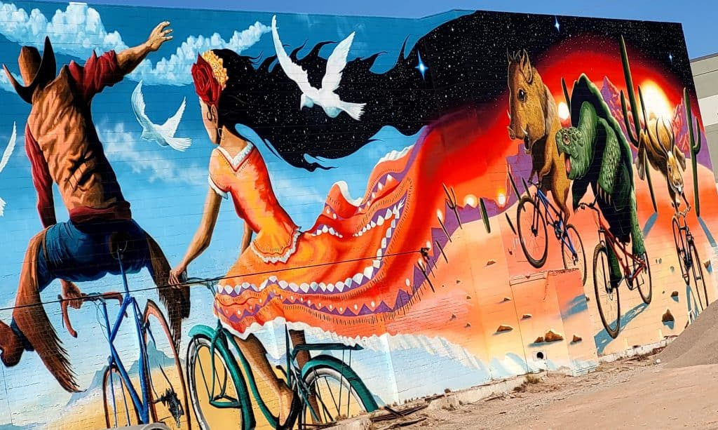 a street art walk is a must do during a 48 hours in Tucson