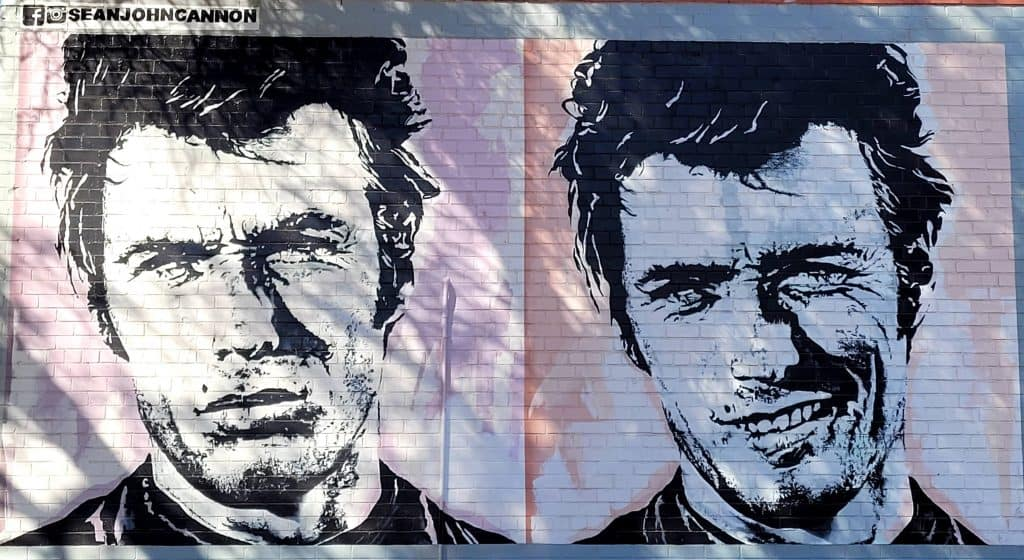 clint eastwood mural in tucson