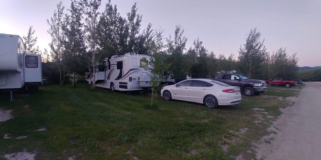 bill frome campground in island park idaho near west yellowstone
