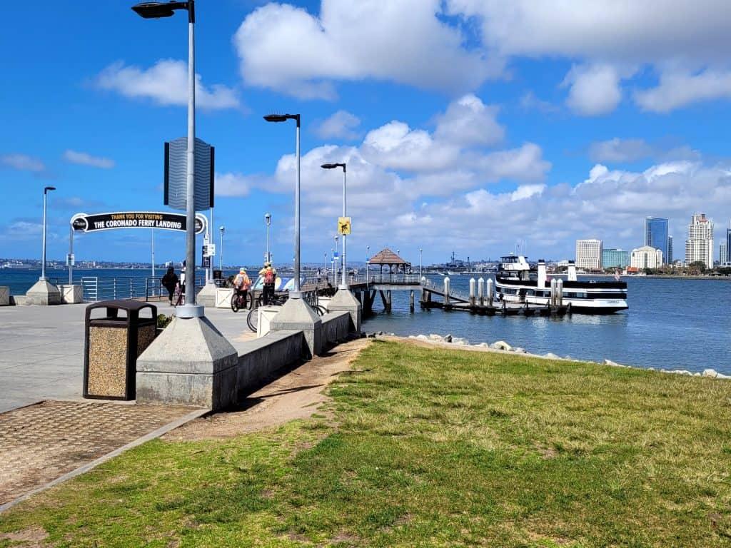 coronado ferry dock
