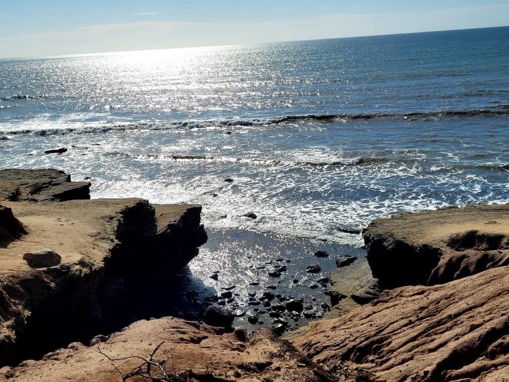 coastal trail at cabrillo