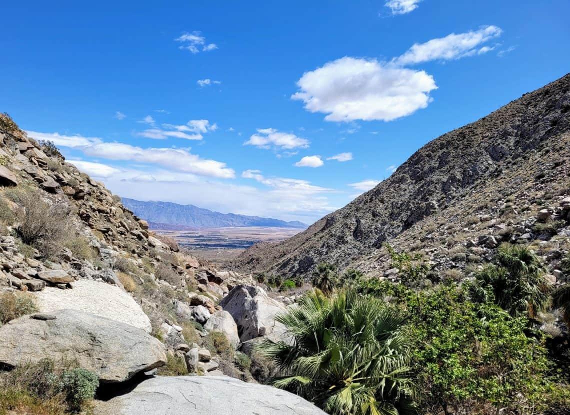 anza borrego hellhole canyon view point