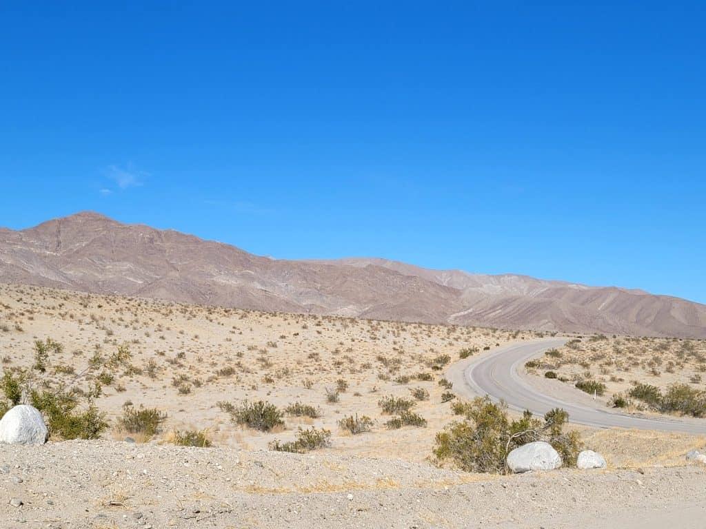 erosion drive at anza borrego
