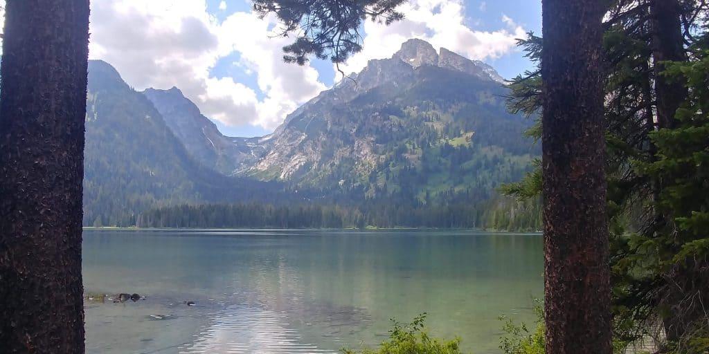 taggart lake at grand teton