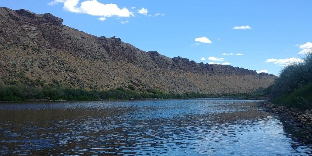riverside camping at dugway campground near rawlins wy
