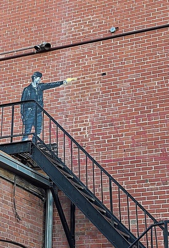 shooter mural in laramie wyoming