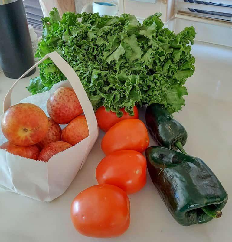 fresh produce from the downtown laramie farmers market