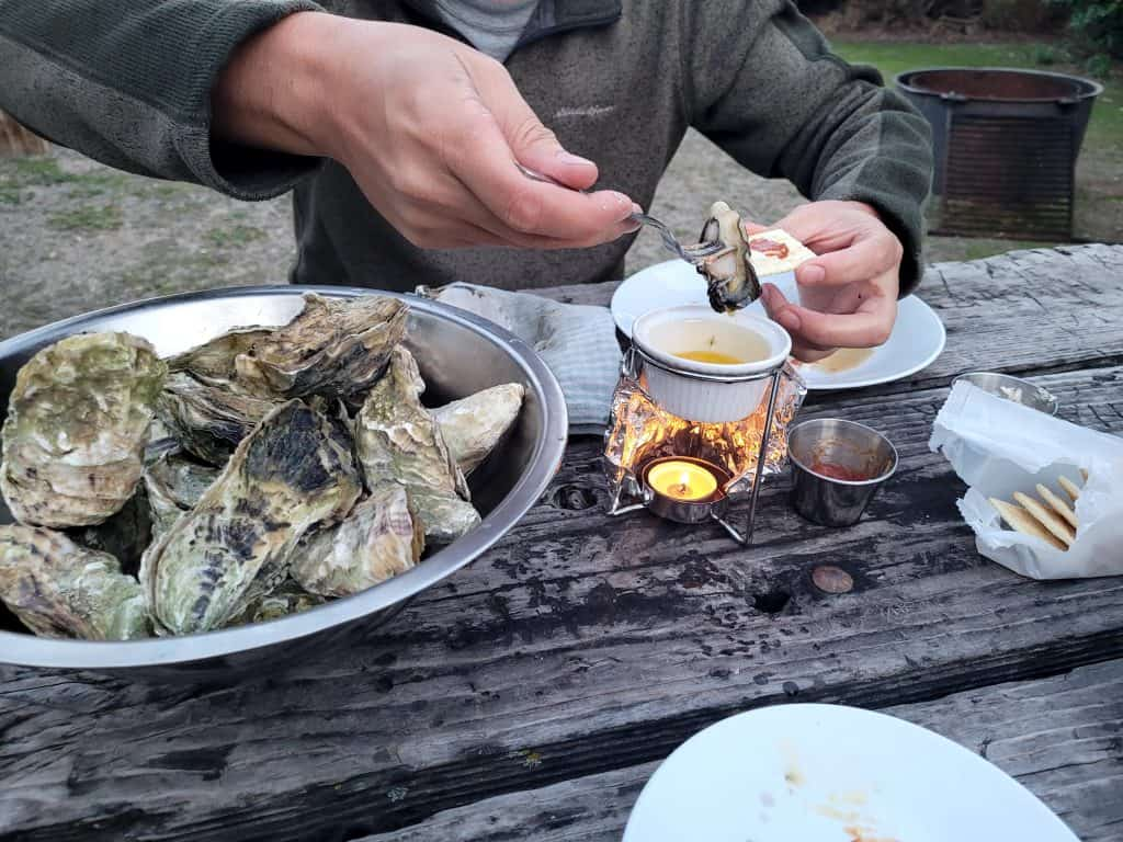 oyster roast at home