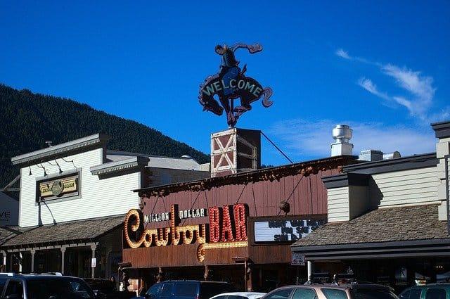 cowboy bar in Jackson wyoming