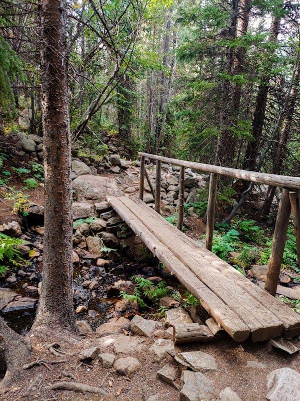 bridge on lost lake hike