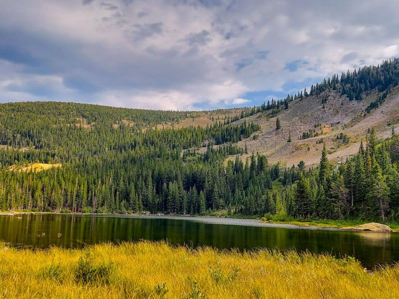 lost lake is only accessible via a hike from the Hessie Trailhead in Nederland