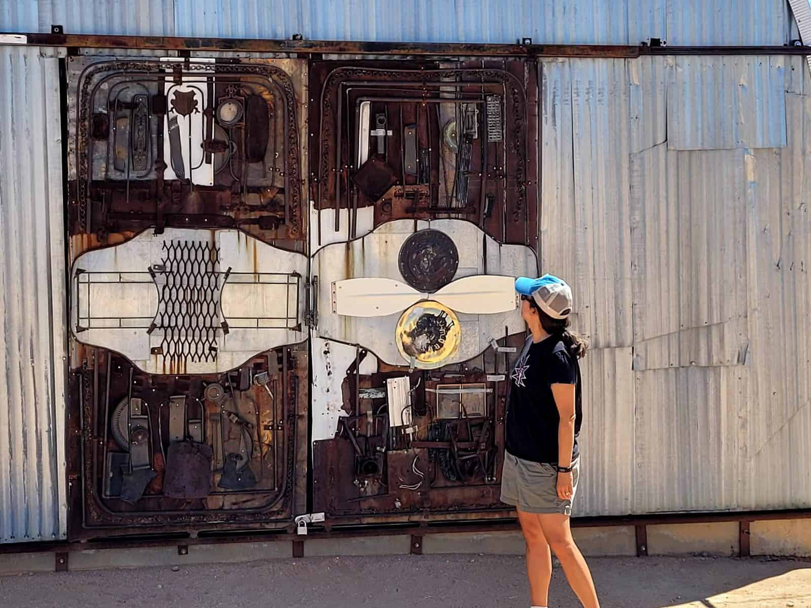 you never know what to expect at the noah purifoy outdoor art museum