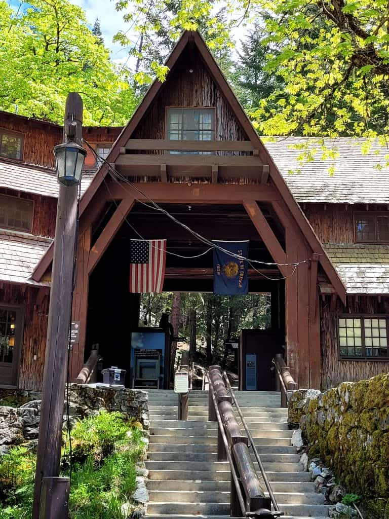 visitor center at oregon caves