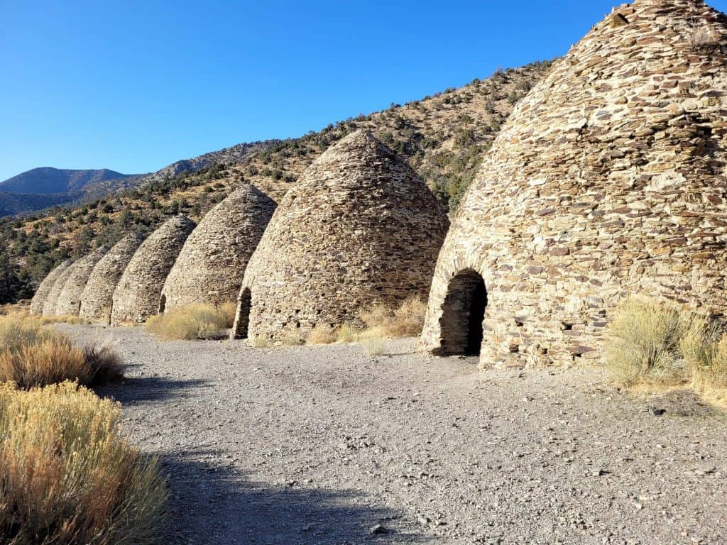 charcoal kilns at death valley