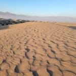 mesquite flats sand dune at death valley