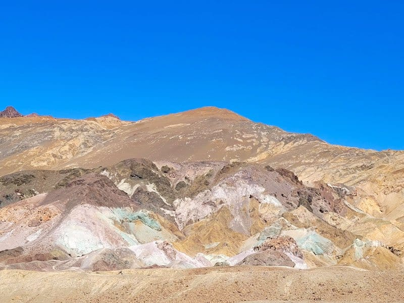 artists palette at death valley