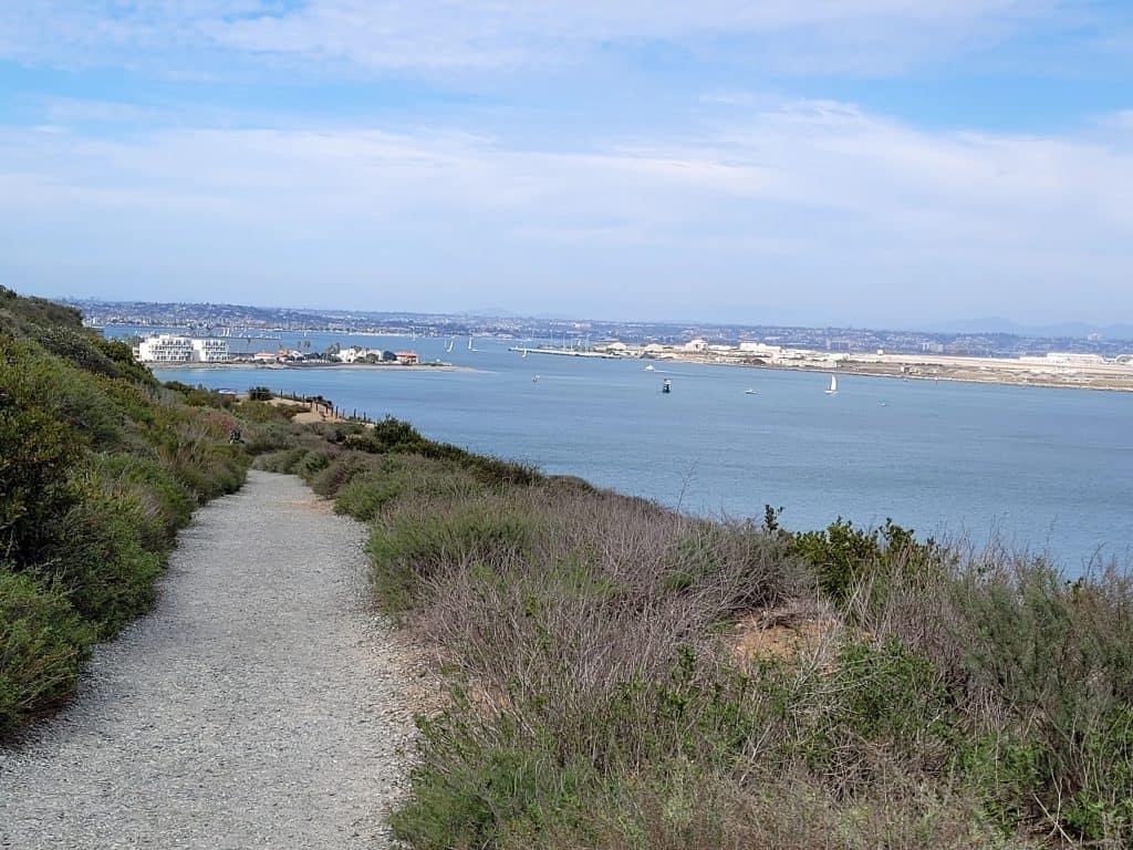 bayside trail at cabrillo