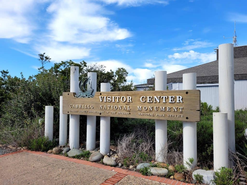 the visitor center is a great thing to do at cabrillo national monument
