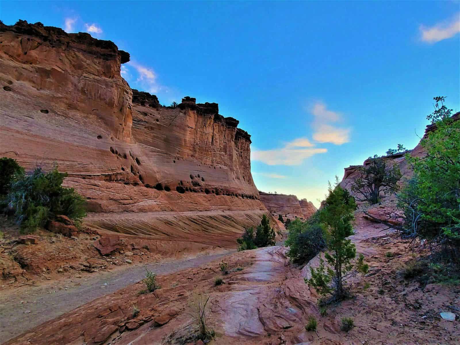 canyon at escalante