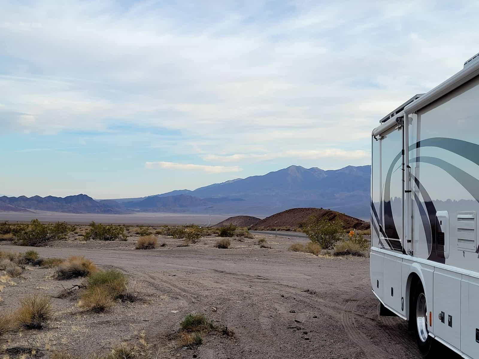 backcountry camping near death valley