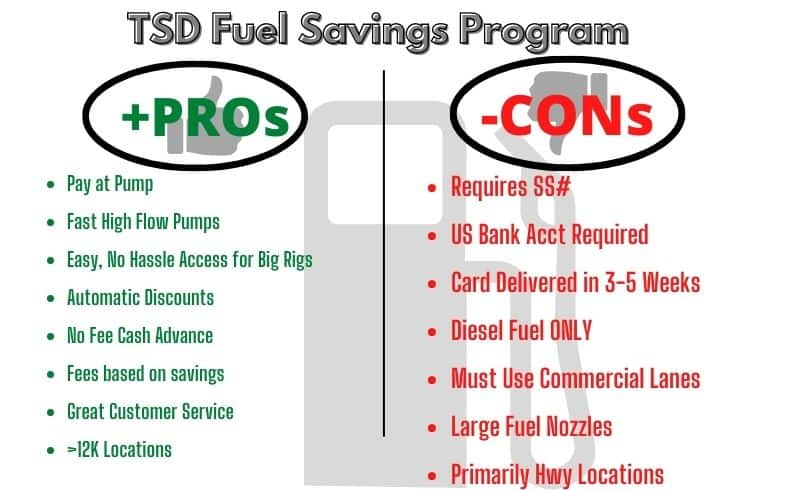 tsd rv diesel pros and cons graphic