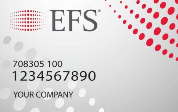 efs issues the tsd fuel savings card for rv owners