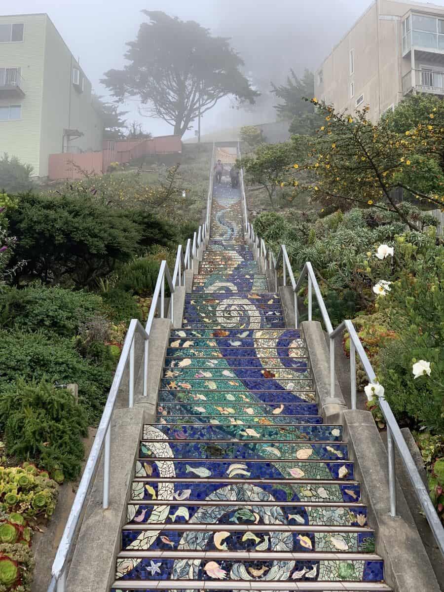 mosaic steps in san francisco